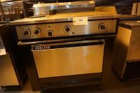 Three Phase Griddle/Oven