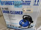 Hydrostar 50 foot drain cleaner like new