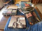 Vinyl Record Collection Of Approximately 60 Records That Includes Elvis, George Jones, & Merle Haggard Box Set;  Approx. 40 Misc. Cassettes
