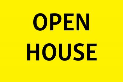 OPEN HOUSE/PREVIEW