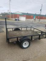 6' X 8' Trailer With Drop Gate