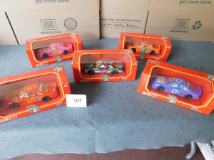 1:24 scale 1994 edition mcdonalds racing team 5 cars