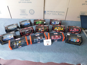 1:43 scale die-cast 13 cars