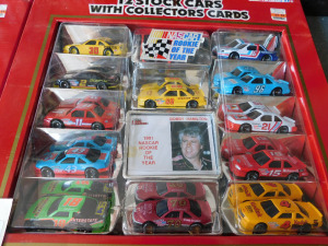 Bobby Hamilton 24 cars with cards, Ernie Irvan, Rusty Wallace, Chad Little, sets of 3 cars and 2 trucks