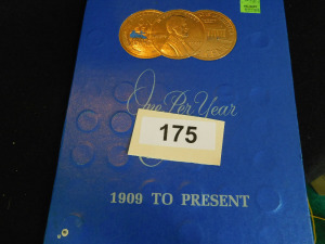 Lincoln Cents penny collection starting at 1910 Approx 56 coins