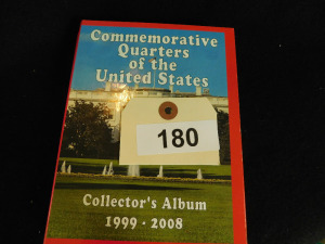 Commemorative quarters of the us 1999-2008 approx 138 coins