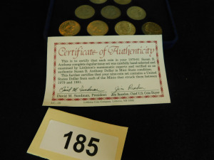 1979-81 Susan B Anthony coin Collection