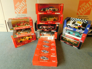 1:24 Die cast 10 cars, 6  banks