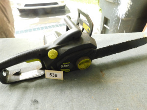 Poulan Electric 3.5 horse power 13.5 amp chainsaw