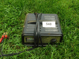 10 amp 6/ 12 volt battery charger-shed