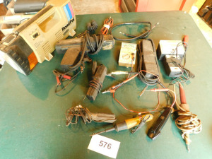 misc electric meters, super bright timing light, misc other, table only - shed