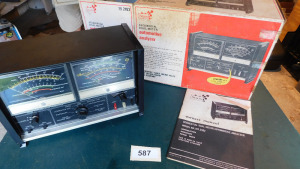 Sequal dual meter automotive Analyzer model number 161.2182