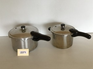 Two Pressure Cookers