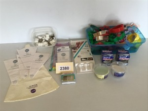 Baking Accessories - Cookie Cutters, Baking Cups, Vinyl Decorating Bags, And Nozzles