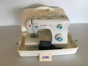 Singer Simple Portable Sewing Machine