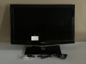 "Samsung TV, 37"" With Remote, Stand Attachment Needs Replacing"