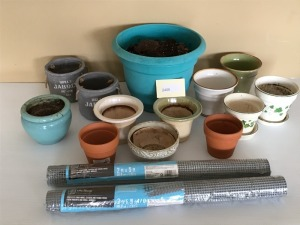 Outdoor Planters, Hardware Cloth Protection From Rodents And Small Animals, 2' X 5'