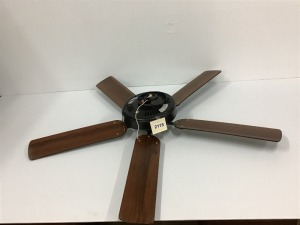 "Harbor Breeze Five Paddle Ceiling Fan, 12"" Motor, Approx 21"" Paddles"