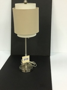 Small Contemporary Table Lamp, 26""