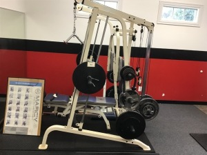 Marcy Diamond Elite MD 9010 Strength System With Two Floor Mats