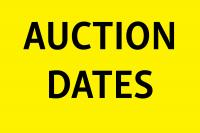 AUCTION DATES